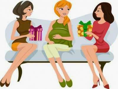 Limítese a invitar solamente a mujeres a un baby shower