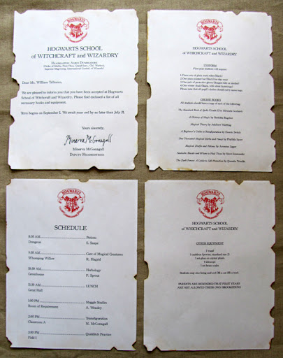 Hogwarts Acceptance Letter Generator Image Search Results
