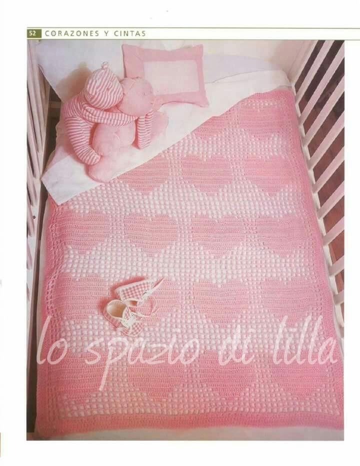 a basso prezzo Stati Uniti sporchi online alta qualità lo spazio di lilla: Copertina per neonato crochet,