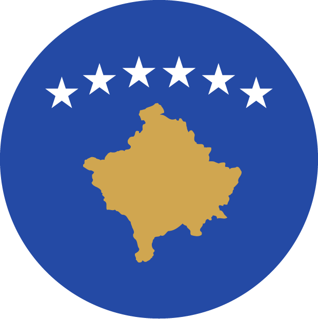 Kosovo Flag Europe illustration vector svg eps png psd ai download free