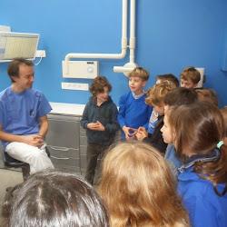Op bezoek bij de tandarts