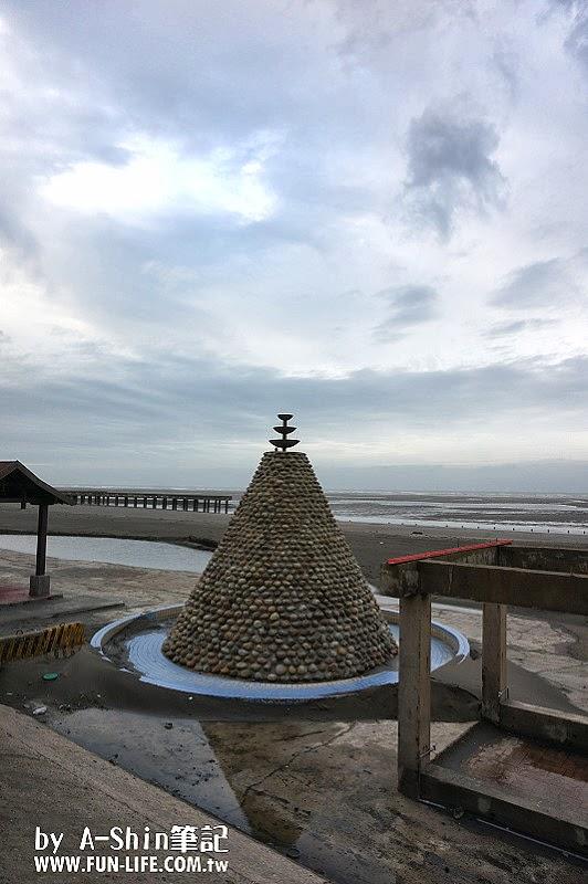 大安濱海遊樂園|大安濱海遊樂園海水玩到翻,浪漫約會看夕陽,帶著小孩玩沙子~