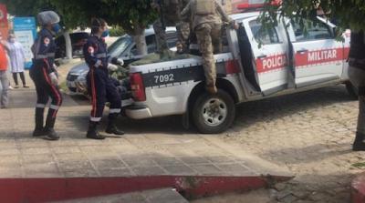 06 homens que participaram de assalto à agência bancária em Coremas são mortos em troca de tiros com a PM