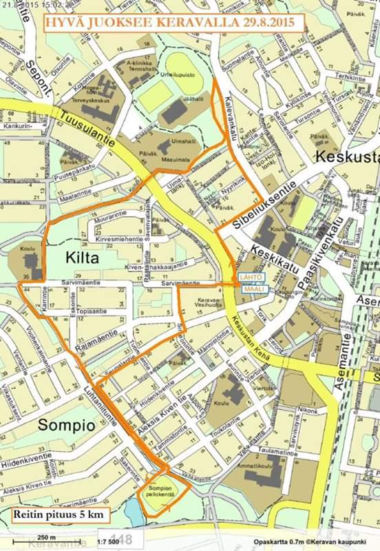 Keravan Kartta Keravan Kaupunki