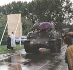 Sherman tank corridor tour, Grave bridge - Market Garden 1994