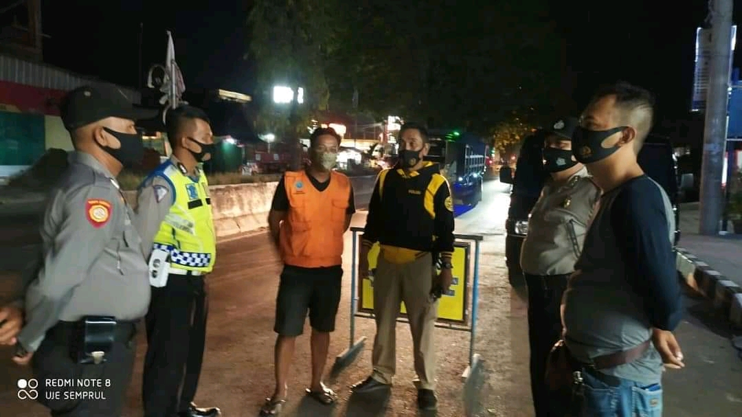 Polsek Kadipaten Polres Majalengka Gencar Gelar Ops Yustisi Malam Hari