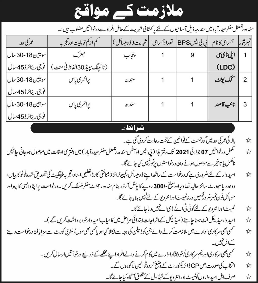 Pakistan Army Jobs 2021 for Male and Female Apply Online