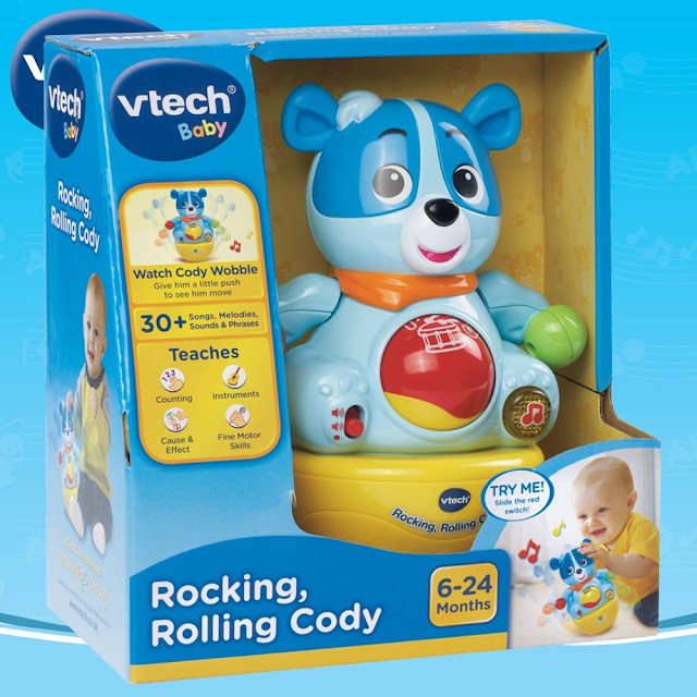 Lật đật Cody Count and Wobble Cody Vtech