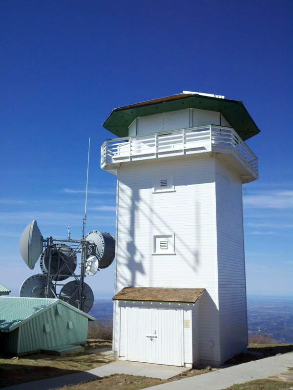 Nate Harrison Grade • Boucher Hill Fire Lookout