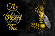 Blessed Bee Girl Pentacle