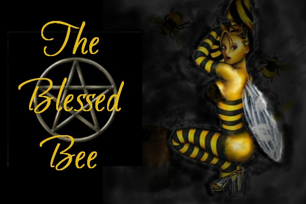 Blessed Bee Girl Pentacle, Blessed Be