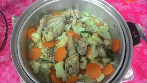 Ayam masak stim