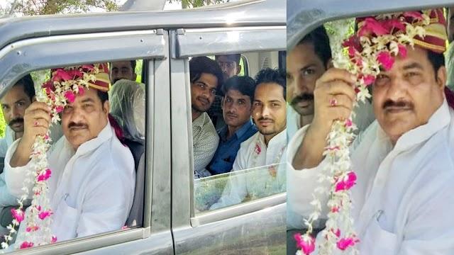 चेकिंग करती रह गई पुलिस, दूल्हा बनकर रामपुर पहुंच गए सपा नेता, जानिए कारण