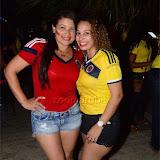BrazilVsColombiaSandraSGarden17June2015