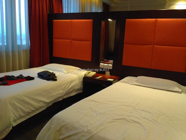 double bed room di city inn beijing