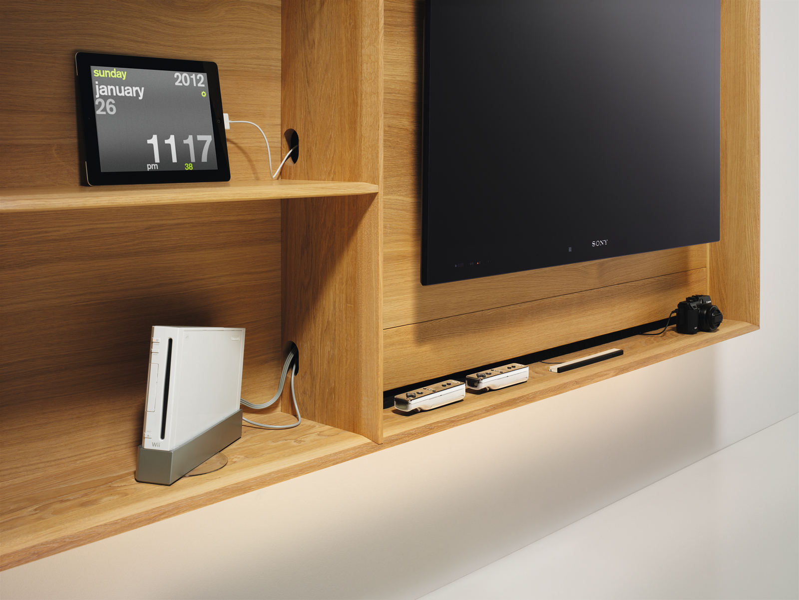 Lux tv kast wandkast noordkaap meubelen for Tv wandkast