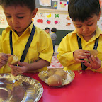 Making Ostrich Egg (Playgroup) 10-11-2014