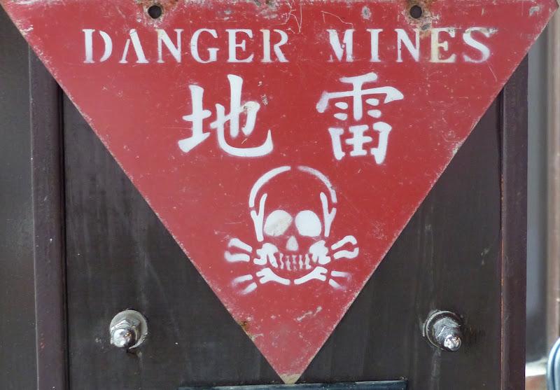 Taipei. Le parc Sanli et un évenement contre les mines dans le monde - mines%2B082.JPG