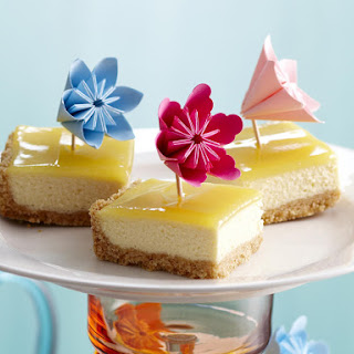 Lemon Curd Cheesecaake