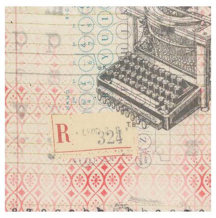 Tim Holtz, Eclectic Elements, Correspondence neutral (11013)
