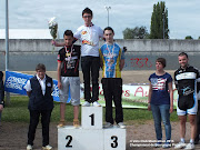 Maxime champion de Bourgogne piste - Minimes
