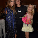 OIC - ENTSIMAGES.COM - Katie Boulter, James Gartshore-Boulter and Betsy Blue English at the  LFW s/s 2016: Sorapol - catwalk show in London 19th September 2015 Photo Mobis Photos/OIC 0203 174 1069