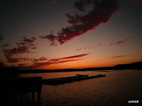 2009/9/9の夕闇です。秋空が素晴らしいアクセントになりました。