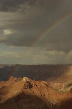 Photo: Rainbow over Escalante Butte, Grand Canyon National Park, Arizona, USA