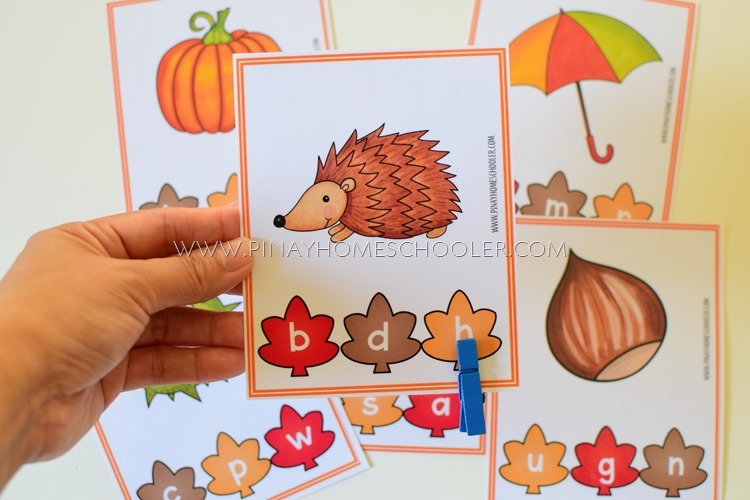 Fall Autumn Preschool and Kindergarten Learning Materials