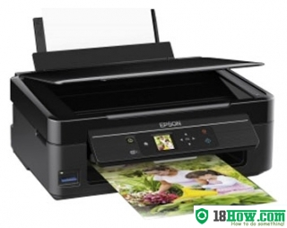How to Reset Epson XP-313 flashing lights error