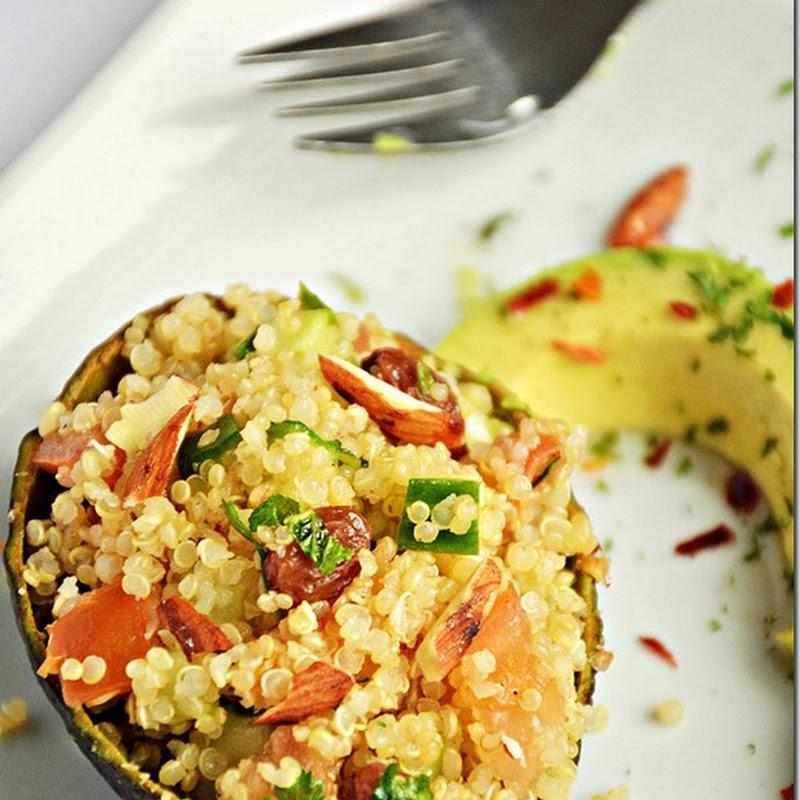 Quinoa salad / Tomato mint quinoa salad / Quinoa mint salad