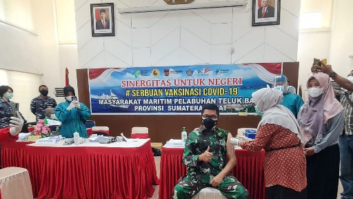Akhir Pekan, Padang Diserbu Vaksinasi  Covid-19