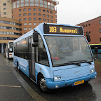 Optare Solo van Syntus bus 5316 met lijn 103 naar Nunspeet via Putten