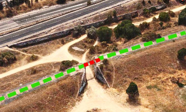 Vía Verde del Ferrocarril Militar. Propuesta