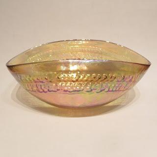 Yalos Casa Murano Iridescent Glass Bowl