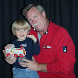 2009 Clubhouse Christmas Decorating Party - MarkGrandSon2.JPG