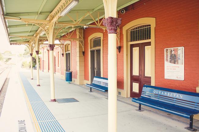 Queanbeyan Railway Station | Lavender & Twill