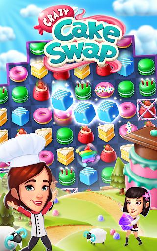 Crazy Cake Swap: Matching Game 1.69 androidappsheaven.com 10