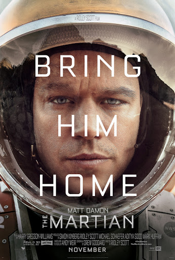 The Martian Η Διάσωση Poster