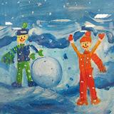 Образы и краски зимы