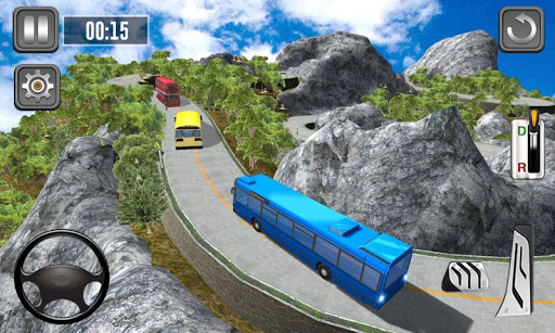 Bus Simulator Multilevel - Hill Station Game 1.0 screenshots 2