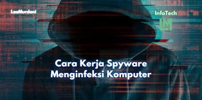 Cara Kerja Spyware Menginfeksi Komputer