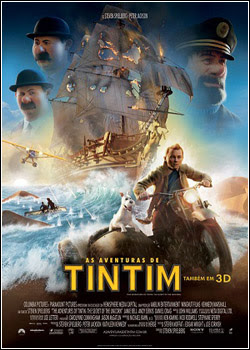 Filme Poster As Aventuras de Tintim TS XviD Dual Audio & RMVB Dublado
