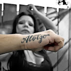 alvizo lettering - Hand Tattoos Designs