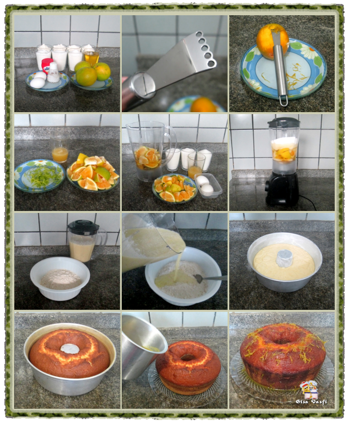 Bolo de laranja e limão 5