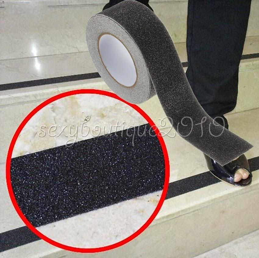 Outdoor Floor Non Slip Stair Treads Black Safety Anti Skid