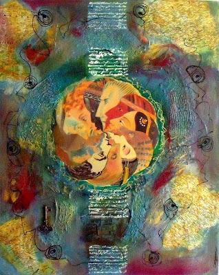 Unity in Diversity Catherine Zanbaka, Mixed Media & Collage, 30 x 24