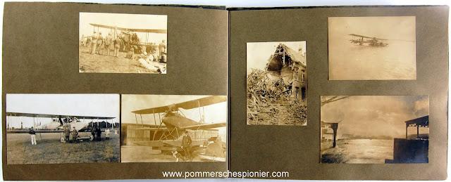 German Hydo-airplane station at Zeebrugge