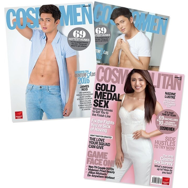 JaDine for Cosmo PH Sept 2016