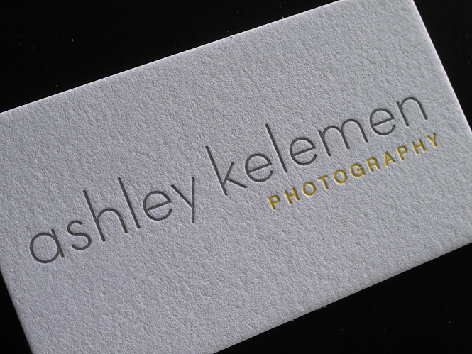 Duplex letterpress business cards Archives - Custom Letterpress